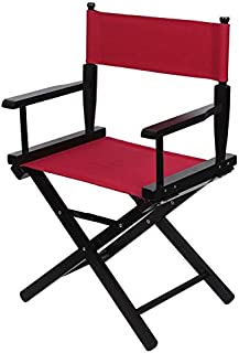 Upone Replacement Cover Canvas for Directors Chairs Casual Home Director Chair Replacement Canvas, Black, Red, White, Gray,Blue (Red)