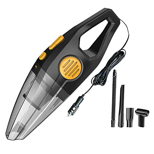 MAGFUN Aspiradora del Coche 8Kpa Aspiradora de Mano para Coche para Aspiradoras Potentes Limpieza Interior AutomáTica Negro