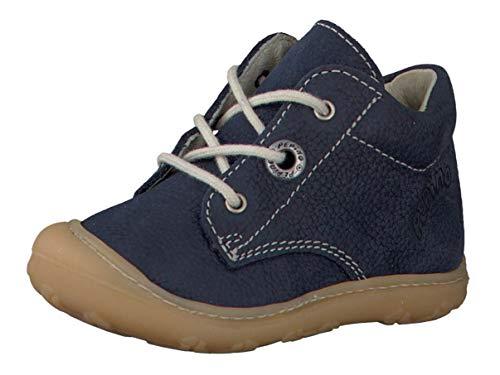 RICOSTA Pepino Unisex - Kinder Stiefel Cory, WMS: Mittel, schnürstiefel Kind-er Kids junior Kleinkind-er Kinder-Schuhe toben,See,20 EU / 4 UK