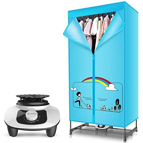 QIMO 900W Wäschetrockner Schnelltrocknungsmaschine Elektrische Wäschetrocknung Mit Abdeckung Apartment Hotel Innentrockner Elektrischer Wäschetrockner