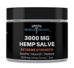 commercial rosita hemp salve Medicinal Miracle Hemp 3000mg Extra Strong Healing Balm | 100% natural cream relieves inflammation, muscles, joints, knees, nerves, arthritis, pain and pain.Fast action, maximum performance, fast discharge