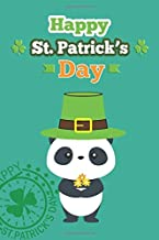 happy st patrick's day notebook: Journal: Lucky Green Irish Shamrocks (120 pages 6x9 cover)