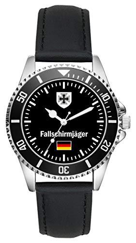 Soldat Geschenk Bundeswehr Artikel Fallschirmjäger Uhr L-1028
