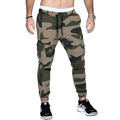 Heren Mode Trendy Slim Casual Broek Fit Sweatpants Modern Casual Zachte Comfortabele Sweatpants Hardlopen Fitness Fietsen Wandelen
