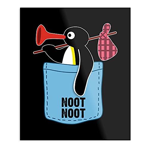 Penguin Noot Noot – el póster de decoración de interior más impresionante y elegante disponible actualmente