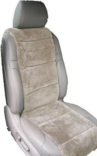 Aegis cover 701003sand Tan Luxury Australian Sheepskin Semi Custom Seat Cover Vest, 1 Pack