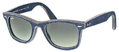 Ray-Ban MOD. 2140, Gafas de sol Unisex - Adulto, Azul (Blue Denim/Grey Gradient), 50 mm
