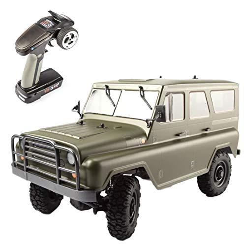 LuoKe Elektrische RC Army Truck Modell 1:12 2.4G RTR TTRC Sport PUBG Buggy Army Fahrzeug Modell Spielzeug Geschenk für Kinder Erwachsene