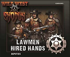 Deputies Box (Hired Hands) Lawmen: Wild West Exodus by Outlaw Miniatures