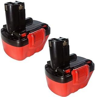 2607335709 2607335249 2607335709 ボッシュ 互換 バッテリー 12V 2.0Ah 2個セット iishop 電動 工具用 バッテリーパック ニカド 互換バッテリー GSR12-1 GSB12 Exact12 などに対応