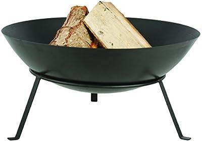 Esschert Design FF267 Series Fire Bowl with Legs Black by Esschert Design