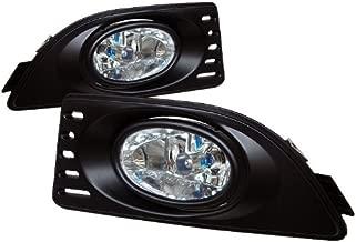 Rxmotoring 2005-2007 Acura Rsx Fog Lights + Drl 8 Led Bumper Lamp
