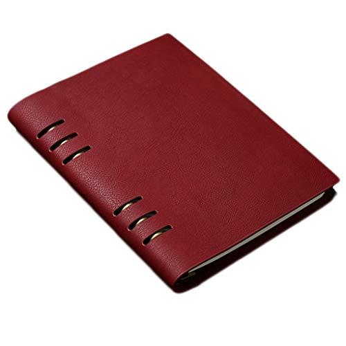 CAIM-notitieboekje retro Domination journal spiraal notebook herbruikbare reisvoering blank mooi notitieblok PU notitieblok