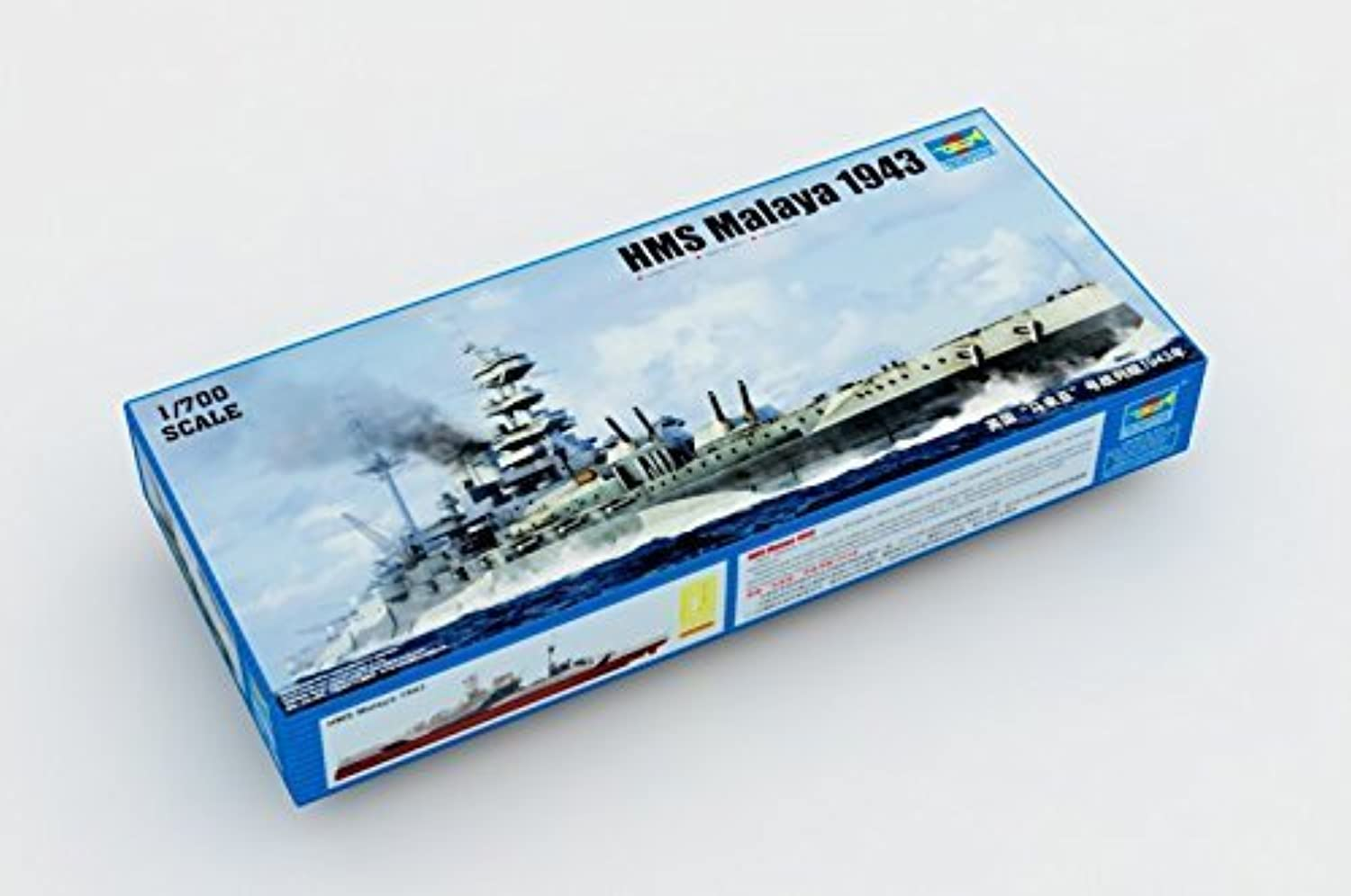 suministramos lo mejor Trumpeter HMS Malaya 1943 - 1 700 700 700 Plastic Ship Kit by Trumpeter  venderse como panqueques