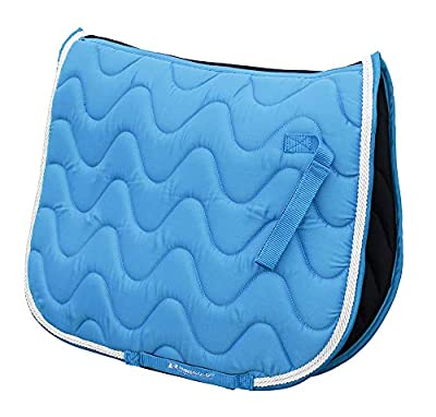 Rhinegold Wave Saddle Pad-Pony-Turquoise