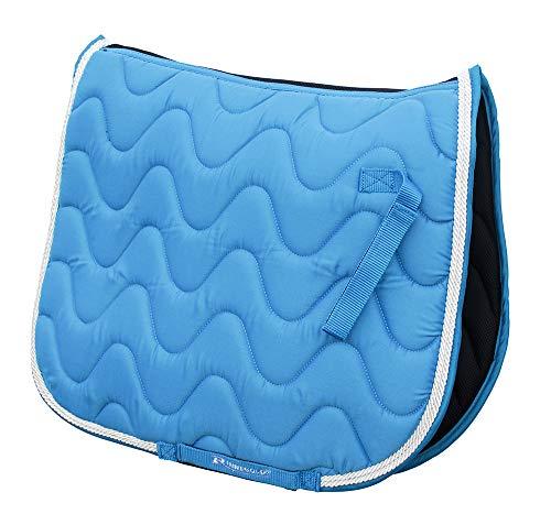 Rhinegold Tapis de Selle Wave Poney Turquoise