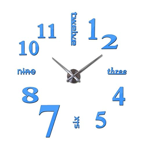 Stephen Wall Clocks 3D real Big Wall c Quartz Fashion Wall Watch Stickers Rushed Mirror DIY cs Living Room by 1 PCs