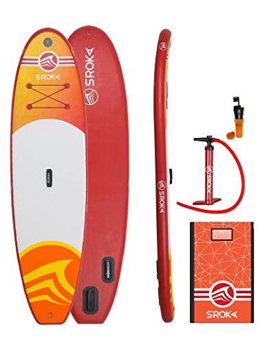 SROKA Malibu - Paddle Hinchable Family, SU18-Mal-10-Or, Naranja, 10 ft
