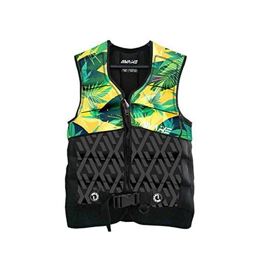 Find Bargain WUZHONGDIAN Life Jacket, Adult Life Jacket Vest,Green (Size : M)