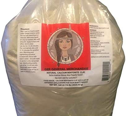 WORLD S MOST POWERFUL REAL Calcium Bentonite Clay 10 lbs Organic Pharmaceutical Higher Than product image