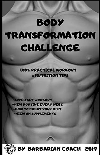 Body transformation challenge: workout, weight loss, bodybuilding, build muscle, nutrition, supplements, whey protein, creatine, glutamine, bcaa, preworkout, weight training , weight lifting