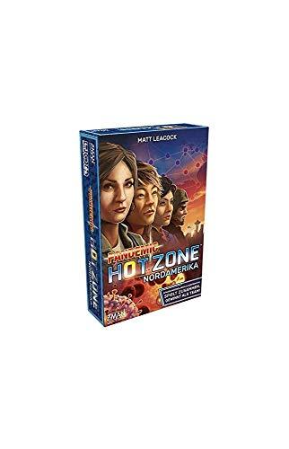 Asmodee ZMan ZMND0012 Pandemic Hot Zone: Nordamerika, Familien-Spiel, Deutsch