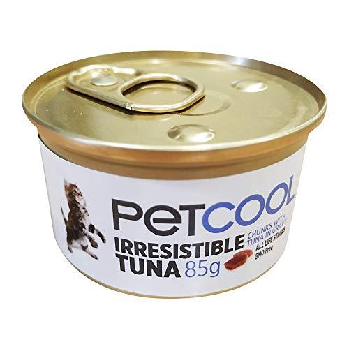 Comida Húmeda para Gatos Pet Cool Irresistible Tuna 85 gr - Pack 12 Latas