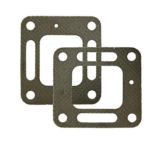 Xinghai Gasket 27-860233 27-863724 Compatible with Mercruiser Quicksilver Exhaust Manifold Elbow Gasket 18-0897(2 Pack)