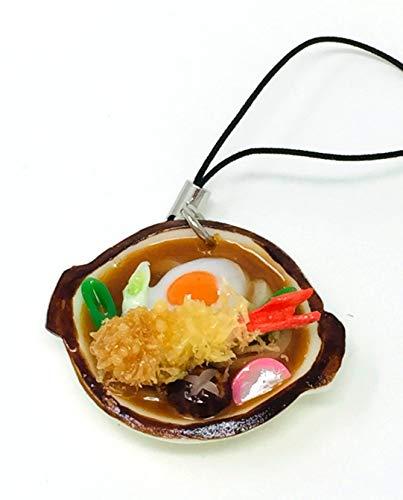 末武サンプル 食品サンプル携帯ストラップ 味噌煮込みうどん 約38�o s-18458