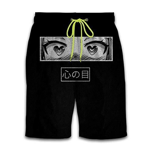 Shichangwei Divertidos pantalones cortos de natación para hombre, estilo japonés 3D, diseño de dibujos animados