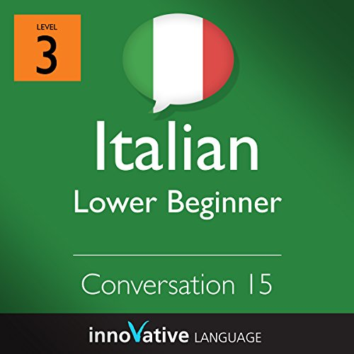 Lower Beginner Conversation #15 (Italian) cover art