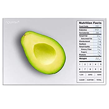 Greater Goods Nutrition Food Scale Perfect for Weighing Nutritional Meals Calculating Food Facts and Portioning Snacks Designed in St Louis.