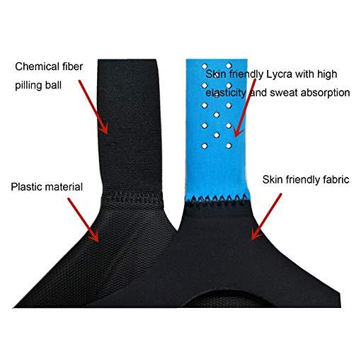 DJFEI Kopfgurt und Faceplate Eye Pad für DJI FPV Combo Goggles V2, Verstellbarer ergonomischer Kopfgurt, Bequem, Waschbar (Blau)