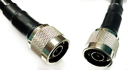Cable Assemblies Now - LMR-400 N Male to Nmale (NM-NM) 3 FT Coaxial Cable Assembly Made with Genuine Times Microwave 50 ohm Coax (3 FEET in Length). Buy it now for 19.99
