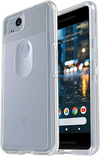 OtterBox Symmetry Series Slim Case for Google Pixel 2 (NOT XL) - Non-Retail Packaging - Clear