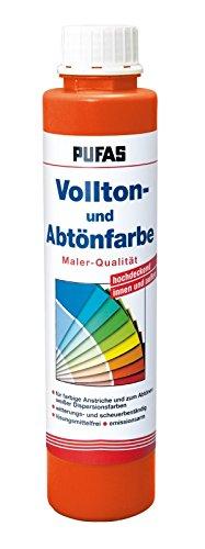 PUFAS Vollton- und Abtönfarben orange 0,75 Liter