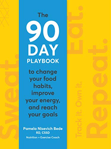 Sweat. Eat. Repeat.: The 90-Day Playbook to Change Your Food Habits, Improve Your Energy, and Reach