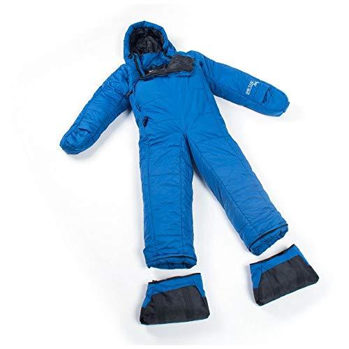 Selk'bag Adult Lite 5G Wearable Sleeping Bag: Seaport Blue, X-Large