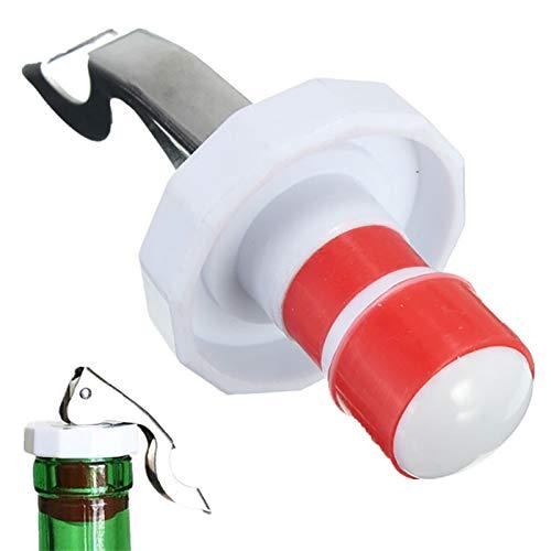 DFSMG Tapón De Botella Sellado Vino Tinto Enchufe De Acero Inoxidable Tapa De Cocina Reutilizable Herramienta (Color : A)
