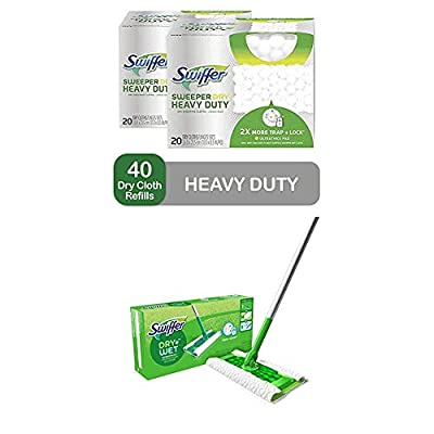 Swiffer Sweeper Daily Cleaning Starter Kit: 2-in-1 Dry and Wet Multi Surface Floor Cleaner