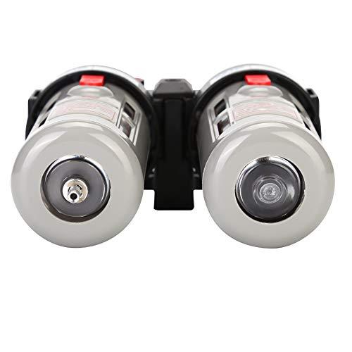 Filtro de compresor, regulador de filtro de aire sólido - 20~70 ℃ con aire comprimido de partículas de plástico