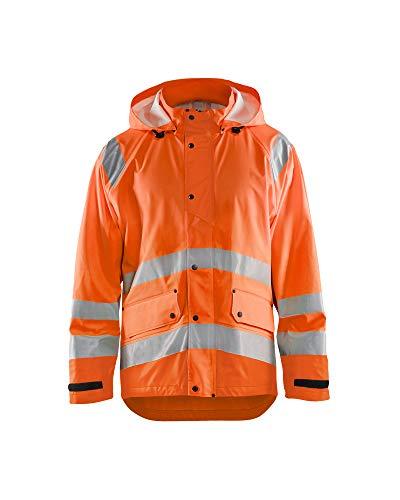Blaklader High-Vis Regenjacke Warnschutz 4323 - Herren Größe XXL High Vis Orange