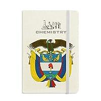 コロンビア国家エンブレムの国 化学手帳クラシックジャーナル日記A 5