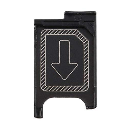 Auf LagerNeuester Micro SIM Kartenhalter Slot Ersatz für Sony Xperia Z3 Z3 Compact - Schwarz