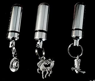Western/Cowboy Trio - Cremation Urn with ENGRAVINGS - Includes 3 Velvet Pouches & Fill Kit