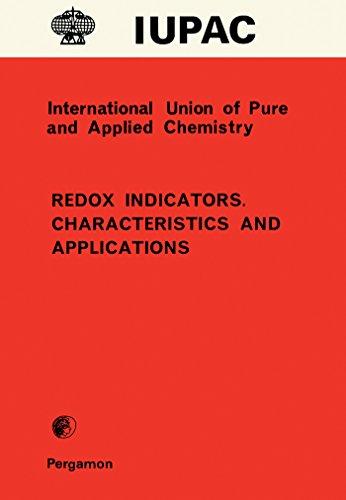 Redox Indicators. Characteristics and Applications (English Edition)