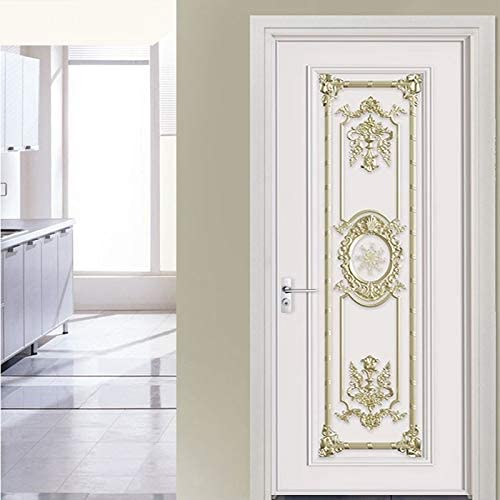 TSP Stick Wallpaper European Style excellence Luxury Sticker Stereo 3D Cheap super special price Door