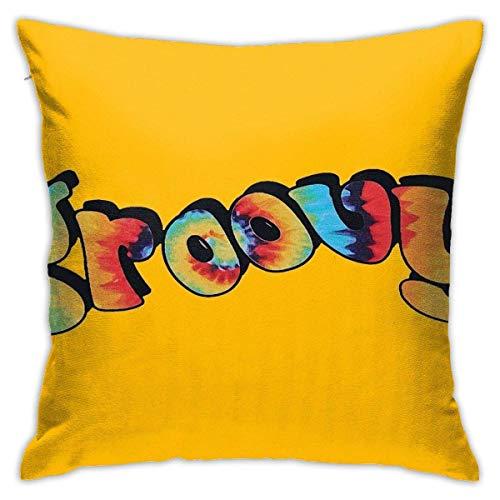 Kissenbezug Dekorativ Groovy-Tie Dye SquareGröße: 45 x 45 cm