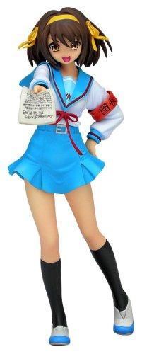 Melancholy Haruhi Suzumiya: Haruhi Suzumiya School Uniform PVC Statue 1/10 Scale