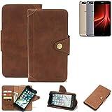 K-S-Trade® For UMIDIGI Z1 Wallet Case Mobile Phone